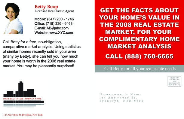 Customize Your Real Estate Postcard Design Now