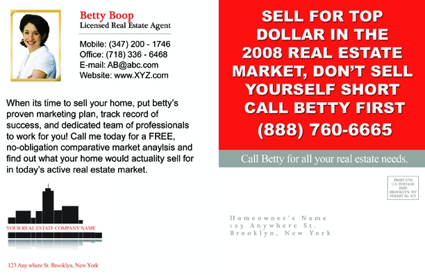 Customize Your Real Estate Postcard Design Now.