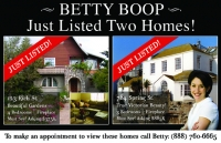 This just listed real estate postcard features 2 property photos, design id#403 a great way to generate leads.