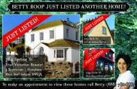 Real estate postcard marketing - just listed post cards, just sold postcards for realtors.