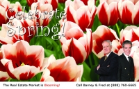 Spring Real Estate Postcards - Oh yeah once again its Marketing for Realtors that really works, realtor postcards, just listed postcards, just sold postcards, prospecting postcards.