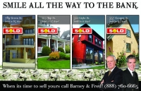 Money in the bank, Real estate marketing postcards, design #711 realtor post cards that get the job done.