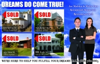 Just sold real estate postcards. Farming post cards for real estate agents and realtors.