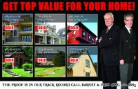 real estate postcard marketing for realtors and agents. These post cards feature just sold properties which proves your a real estate agent who does their job well.